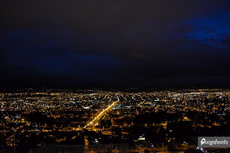 Toda Cuenca iluminada.
