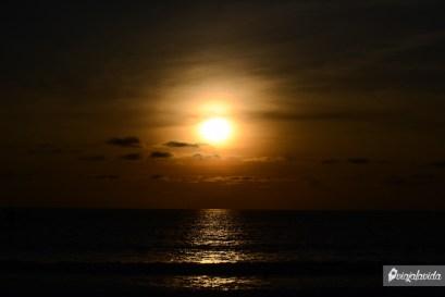 Luz al final del paisaje.