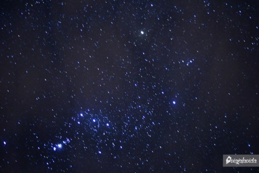 Estrellas en movimiento.