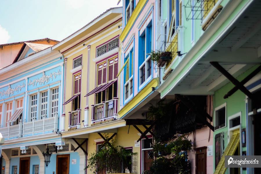 Casas antiguas coloniales