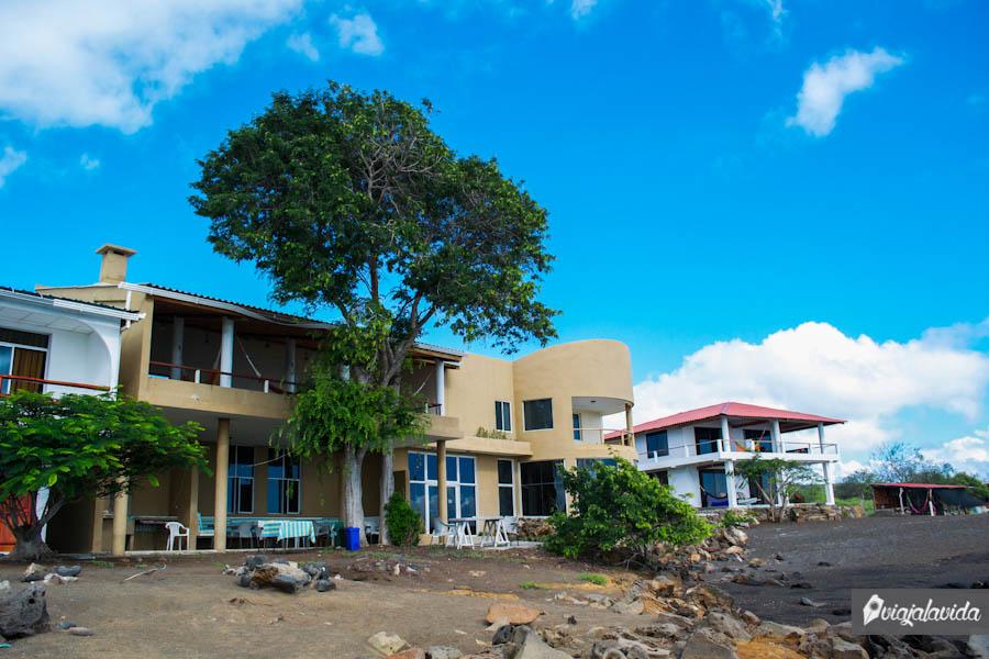 casas grandes frente a la playa