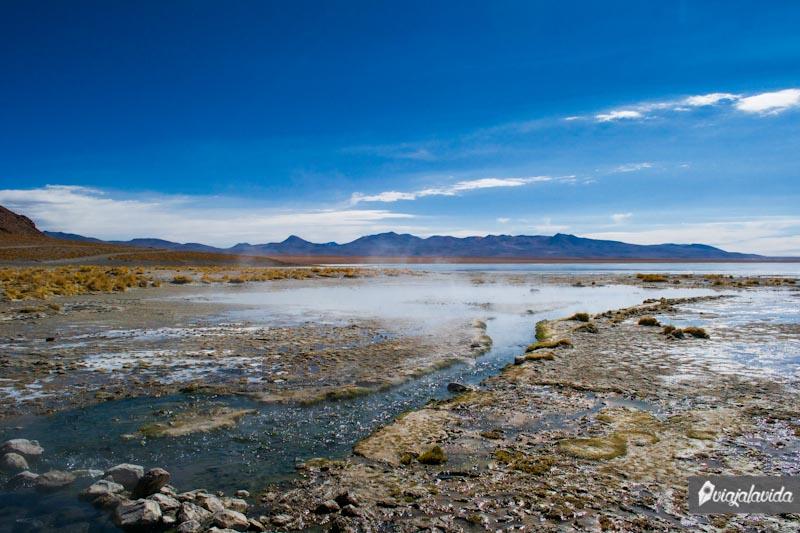 Aguas termales, Uyuni.