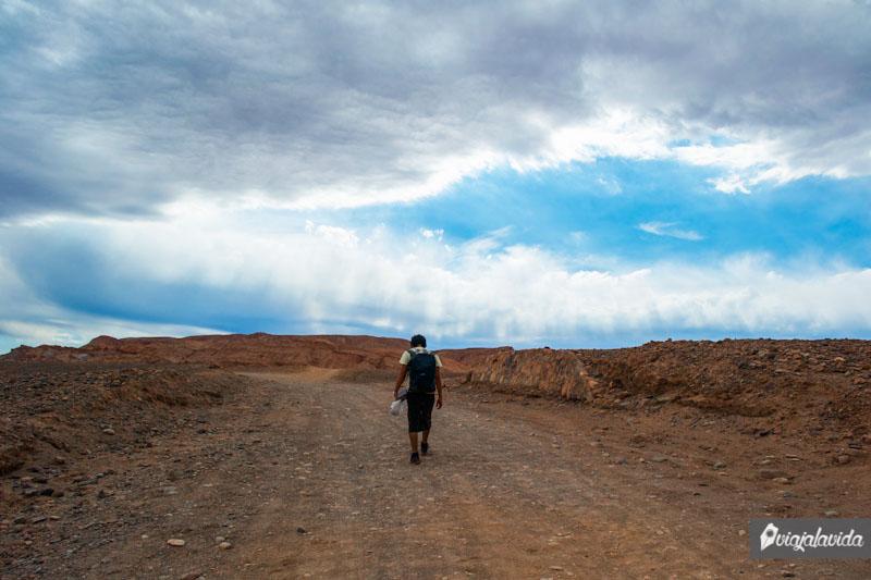 Caminos en el desierto de Atacama.
