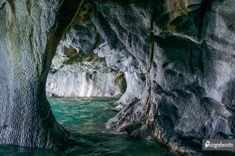 Cavernas de mármol, Chile.