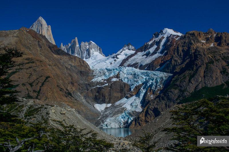 Glaciar en El Chaltén.