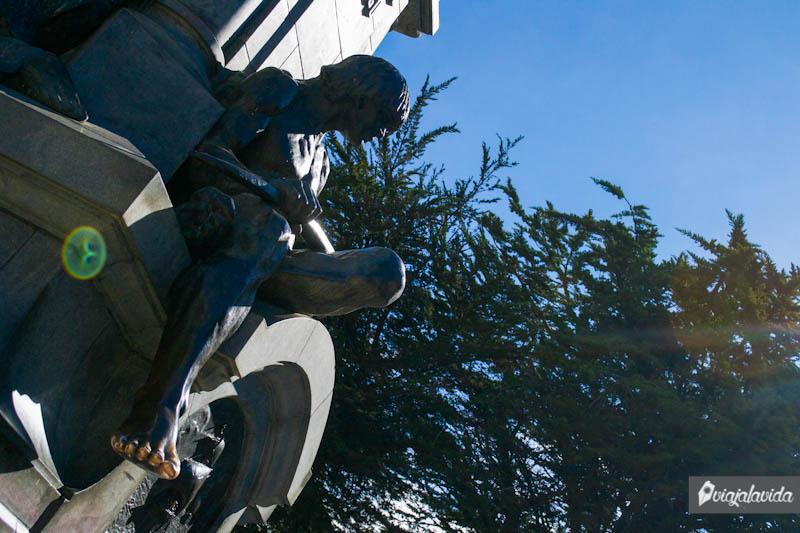 Monumento a Fernando de Magallanes.