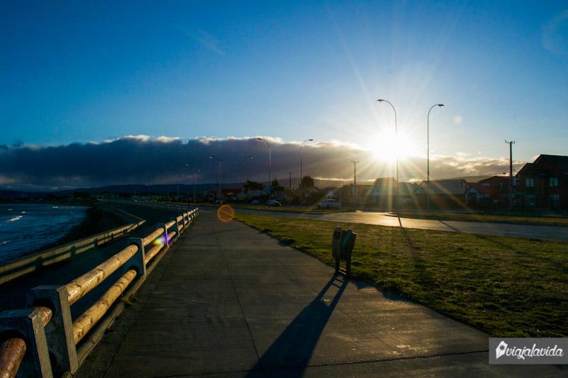 Calles de Punta Arenas.