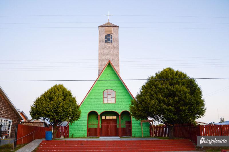 Curaco de Vélez y su iglesia.