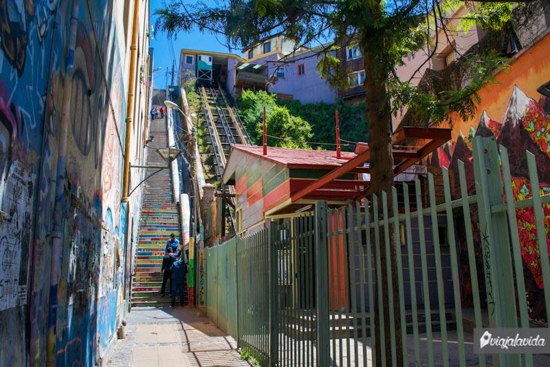 Cerros de Valparaíso, Chile.