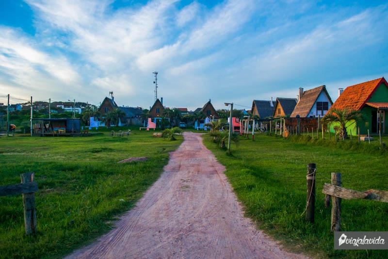 Casas en Punta del Diablo.