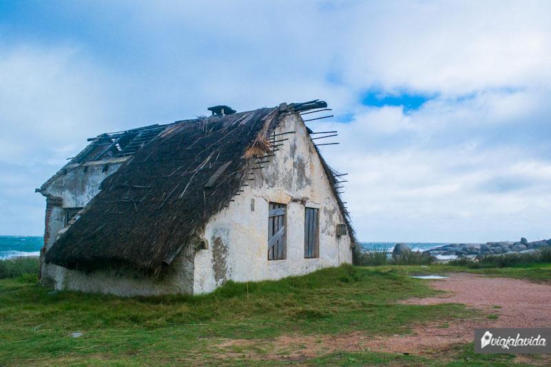 Casa deteriorada.