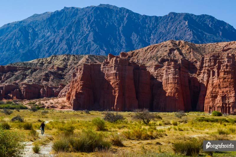 Los Castillos, Quebrada de las Conchas.
