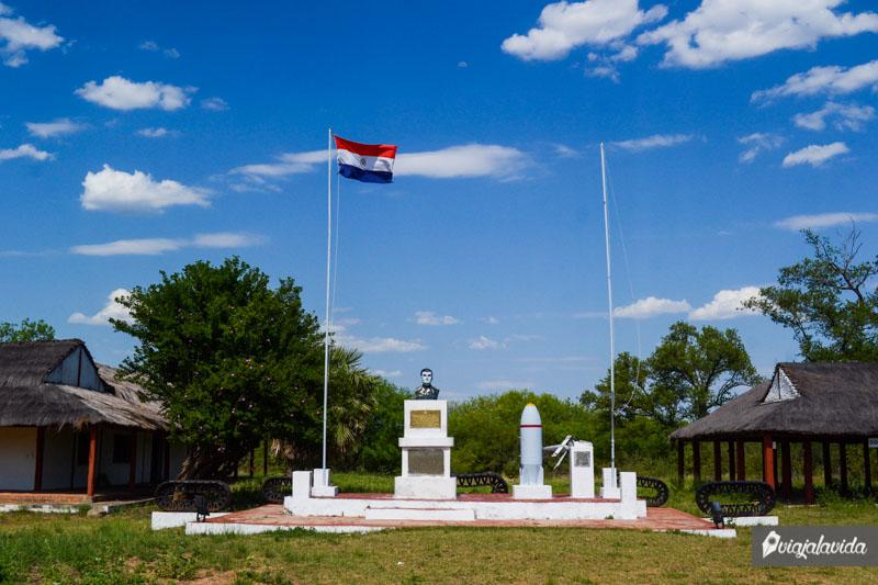 Fortín Villa Militar, Isla Poi.