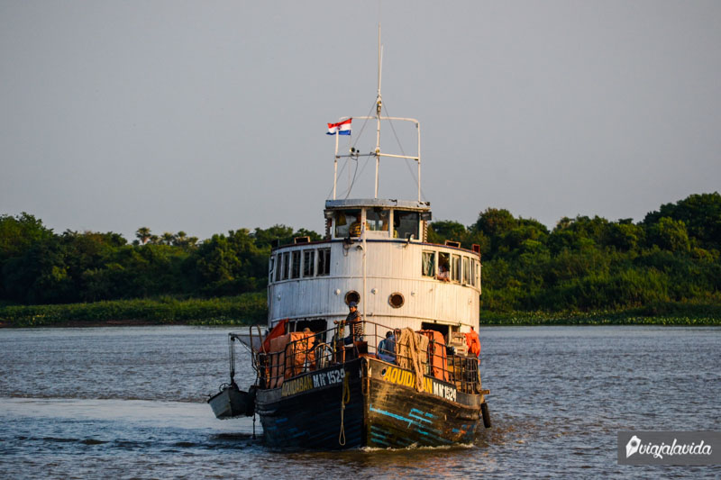 Barco Aquidabán.