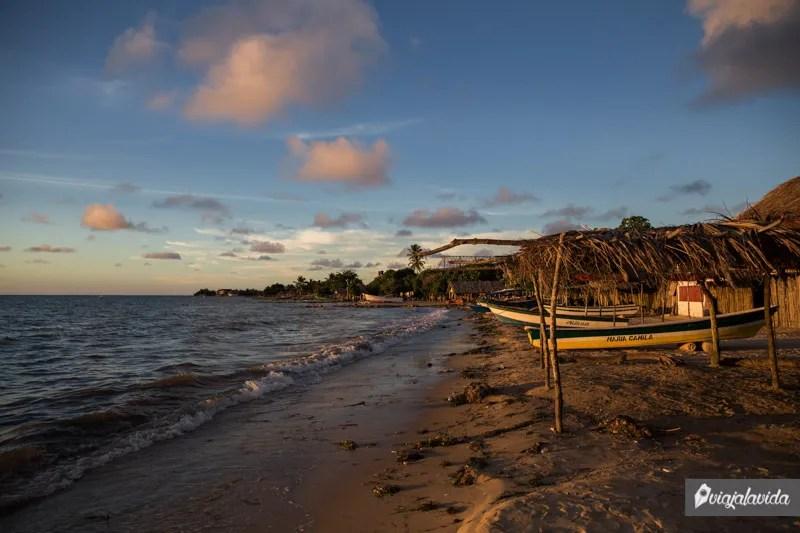 Rincón del Mar, pueblo encantador de Colombia.