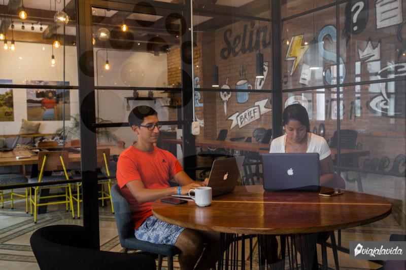 Nómadas digitales en Latinoamérica.