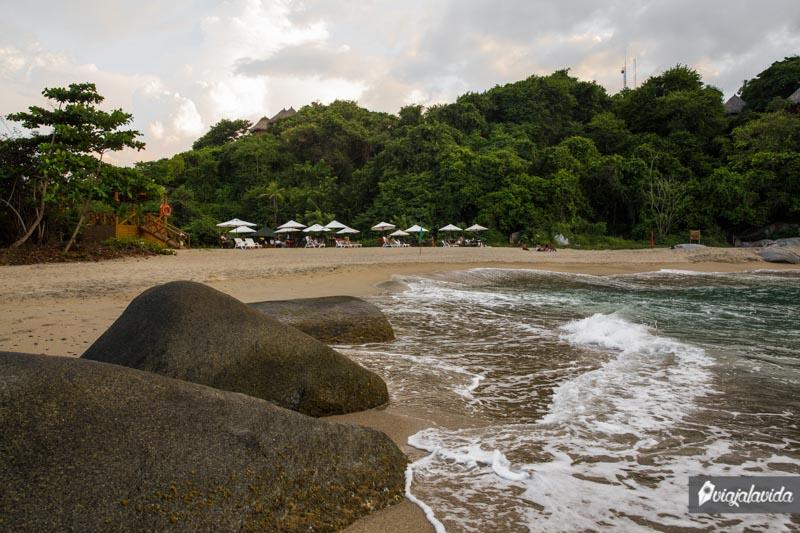 Playa La Piscinita, Tayrona.