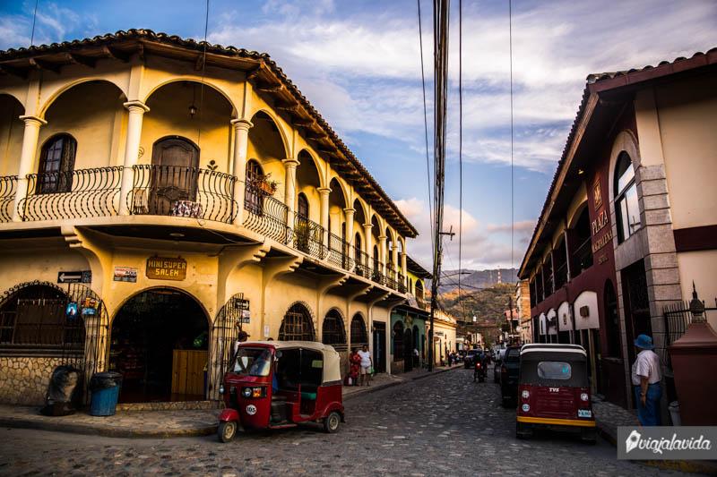 Pueblo de Copán Ruinas.