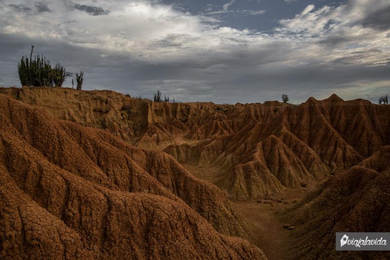 Paisajes de otro planeta en Colombia.