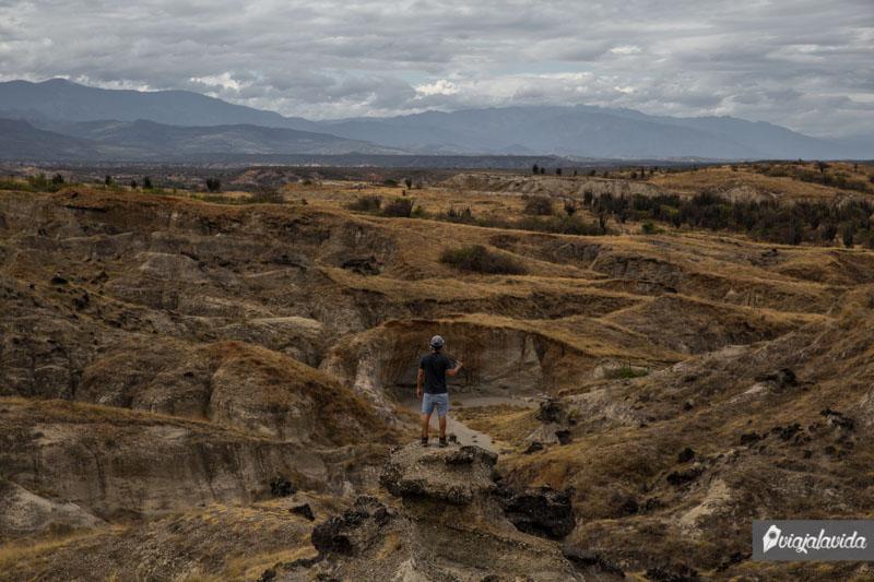 Zona más alta del Desierto de la Tatacoa.