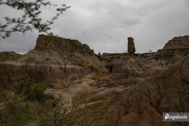 Torres Gemelas en el Desierto de la Tatacoa.