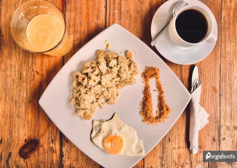 Tigrillo de desayuno.