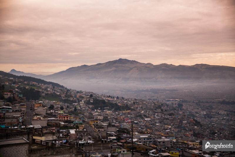 Mirador la Ferroviaria en Quito.
