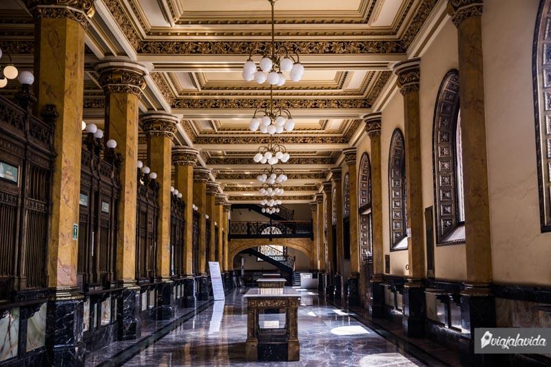 Edificio del Palacio Postal en México.