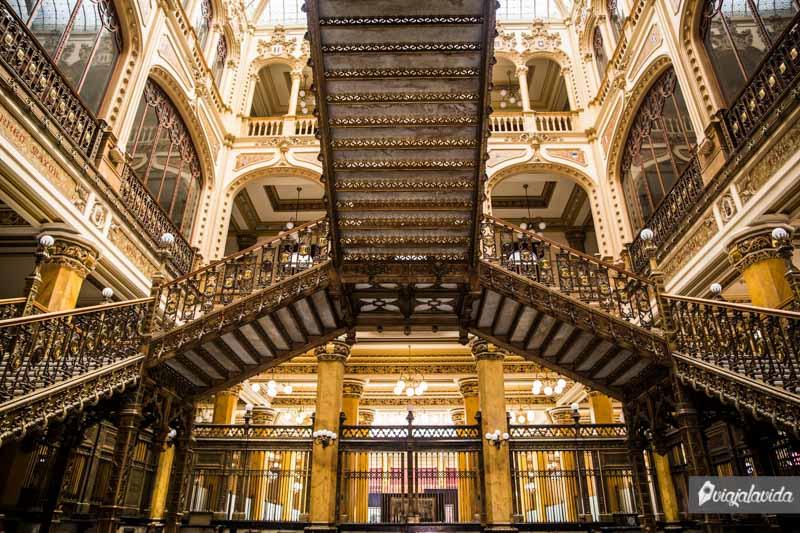 Palacio Postal de Ciudad de México.