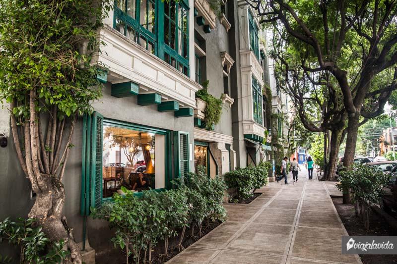 Barrio La Condesa, Ciudad de México.