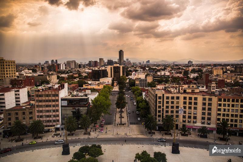 Mirador del Monumento a la Revolución.