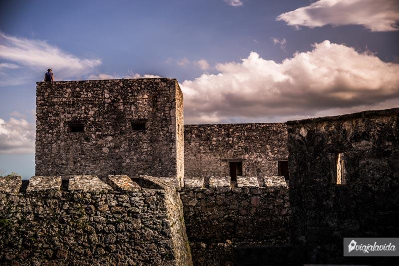 Castillo de San Felipe en Bacalar.