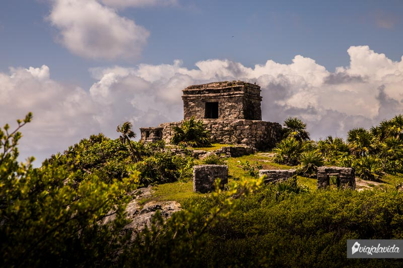 Zona arqueológica de Tulum.