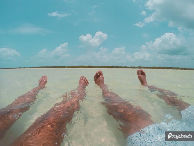 Playas de Holbox.
