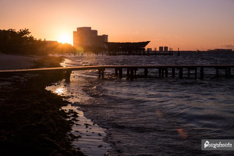 Playas de Cancún, México.