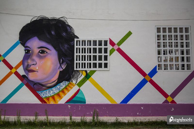 Murales en Holbox.