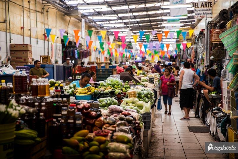 Mercado Lucas de Galvéz, Mérida.