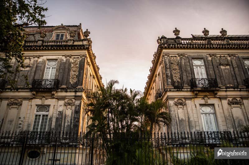 Las Casas Gemelas, en Paseo Montejo.