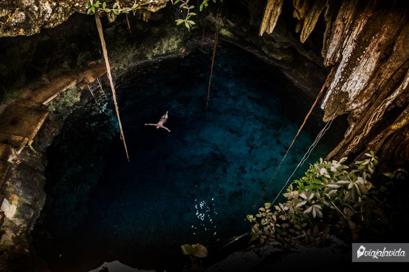 Cenote Chak Zinik Che, Cuzamá.