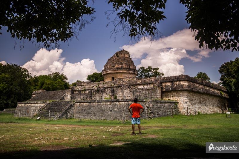 Edificio El Caracol en Chichén Itzá.