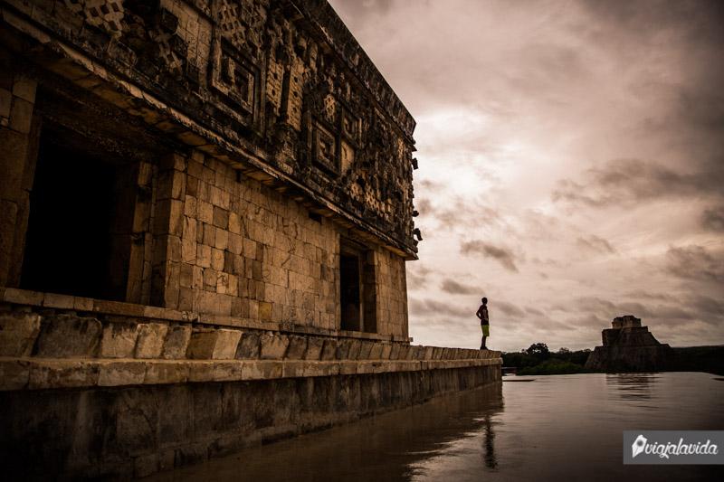 Palacio del Gobernador en Uxmal.