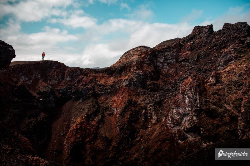 Visita al Volcán Sierra Negra