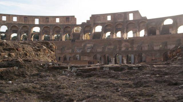 Ruinas del Anfiteatro Flavio.