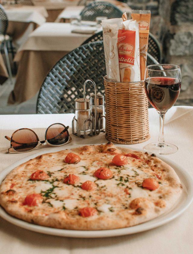 Pizza italiana.