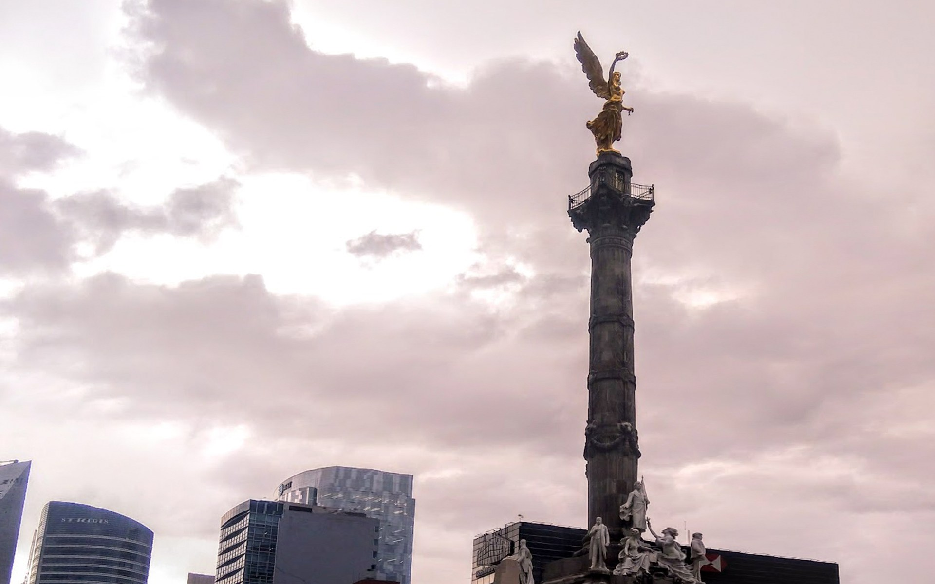 Ángel de la independencia, CDMX