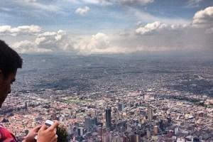 Vista de Bogotá, Enero 2014 -
