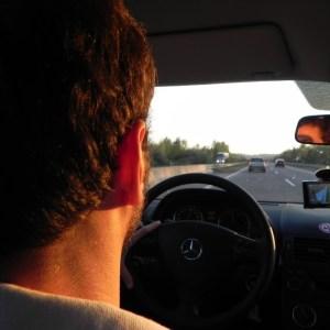 Na estrada, entre a Áustria e a Polônia.