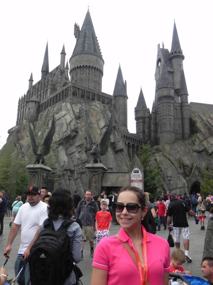 Eu achando que fui aceita em Hogwarts! (Foto: Eberson Terra)