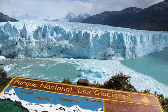 Este é o Glaciar Perito Moreno! Imeeeenso! o.O
