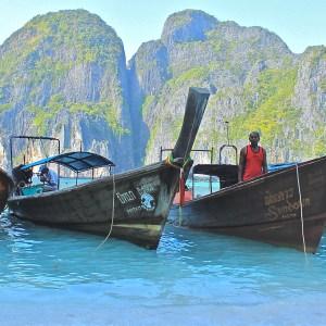 Maya Bay, a paradisíaca praia da Tailândia